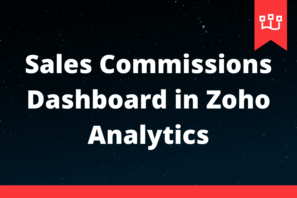 Sales Commissions Dashboard in Zoho Analytics